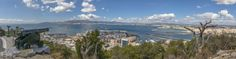 Gibraltar View to Spain II Panorama by Michail Christodoulopoulos on 500px