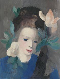 marie laurencin flowers | Marie Laurencin (France 1885-1956)