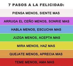7 Pasos a la Felicidad...
