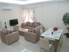 2/3 BHK Apartment in Alnasser  Fully Furnished 2BHK QAR 7,846 3BHK QAR 8,770  3BHK with balcony QAR 9,230 Semi-furnished will be offered 1 Mo. free.  Includes water, electricity, A.C. ,Internet and Land phone.  Contact: at 3339 7302 email: info@aljaborrealty.com.qa Balcony, Internet, Couch, Phone, Water, Free, Furniture, Home Decor, Gripe Water