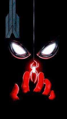 Spiderman iPhone by fullhdwallpapers Black Spiderman, Spiderman Spider, Amazing Spiderman, Spiderman Marvel, Marvel Vs Dc Comics, Marvel Art, Man Wallpaper, Marvel Wallpaper, Wallpaper Resident Evil