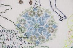 Sampler pattern of the Vierlanden area (Germany)