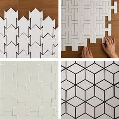 Ceramic Tile Shapes You've Never Seen Before | Apartment Therapy