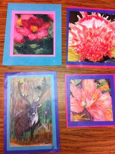 Pastel on Calender pictures for Impressionists