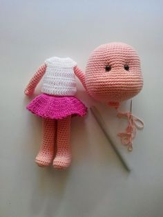 5 Ways to Create Amigurumi Eyes for Your Amigurumi Crochet - Uncinetto Amigurumi Tutorial, Crochet Amigurumi, Crochet Bear, Amigurumi Patterns, Amigurumi Doll, Crochet Dolls, Doll Patterns, Crochet Clothes, Knitting Patterns