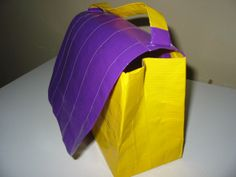 Duct Tape Lunch Bag Tutorial