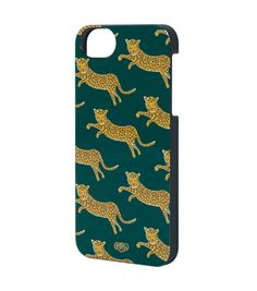 leopard iphone case from rifle paper co.