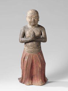 Shotoku Taishi, anoniem, 1200 - 1350 (in het Rijksmuseum Amsterdam)