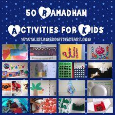 50 Ramadhan Activities for Kids