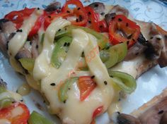 İtalyan Omlet (Dolmalık Biberli, Mantarlı ve Çörek Otlu) Resimli Tarifi - Yemek Tarifleri