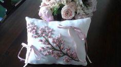 ring bearer cushion hand-picked