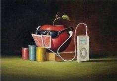 Glen Tarnowski - NA ZONA - óleo original em canvas por Glen Tarnowski