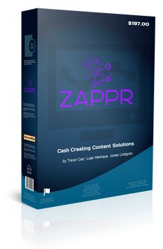 Zappr Review, Bonus, Demo Walkthrough From Trevor Carr - The Cash Content Creator! Marketing Goals, Content Marketing, Internet Marketing, Make More Money, Make Money Online, Make All, Video Site, Website Template, I Got This