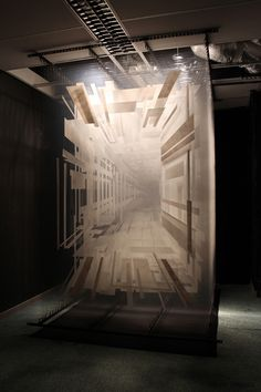 Interesting.  Immersive 3D Paintings on Layers of Transparent Film: An Interview with Artist David Spriggs