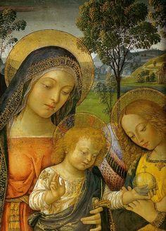 Pinturicchio (1454–1513): Virgen de la Paz, 1490.