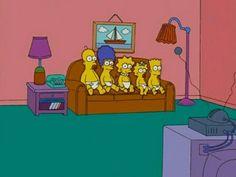 Los Simpson bebé Homero, Marge, Lisa, Maggie, Bart ♥
