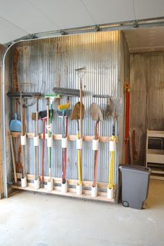 Amazing garage/workspace organization ideas!!! via Newly Woodwards