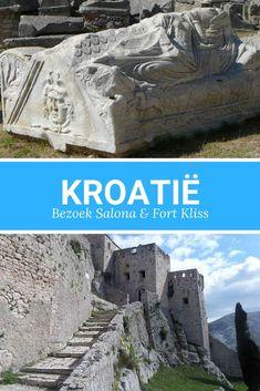 Kroatië. Ga je naar Split in Kroatië? Dan mag je de historische highlights Salona en Fort Kliss niet missen. Bekijk de tips. Montenegro, Croatia, Mount Rushmore, Camping, Mountains, Places, Travel, Rice, Campsite