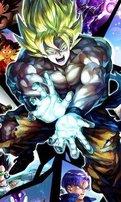 133 Dragon Ball Z - Goku Fighting Hot Japan Anime Poster Dragon Ball Z, Dragon Z, Otaku Anime, Anime Manga, Anime Art, Goku Manga, Akira, Fan Art, Majin