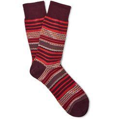 MISSONI Patterned Cotton-Blend Socks. #missoni #cloth #socks