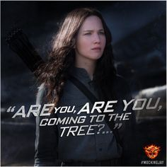 """""""Strange things did happen here, no stranger would it be…"""" #Mockingjay"""
