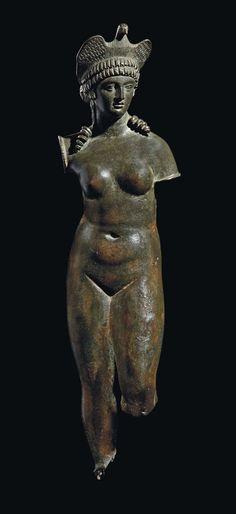 Roman Isis-Aphrodite with Dove Headdress. Circa 2nd century AD