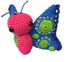 Ravelry: butterfly Fladder pattern by Christel Krukkert