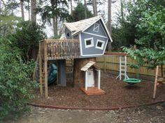 kinderspielhaus holz spielhuas holz outdoor spielplatz