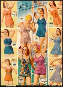 Swimwear - I do like the swimsuits with the little skirts
