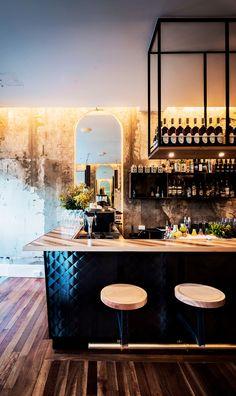 id es d co pour un bar au look industriel bar pinterest bar id e d co bar et restaurant. Black Bedroom Furniture Sets. Home Design Ideas