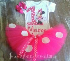 Check out this item in my Etsy shop https://www.etsy.com/listing/547957757/minnie-mouse-birthday-tutu-outfit