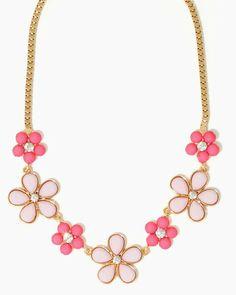 Petal Rock Necklace | Jewelry Flowers Rhinestones | charming charlie
