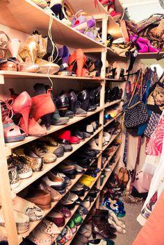 Elisa Nalin's closet