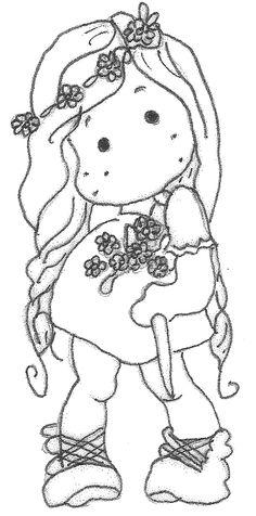 Magnolia stamp Bride