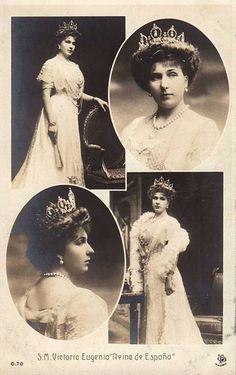 La reina Victoría Eugenia de España