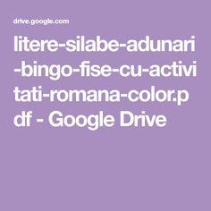 litere-silabe-adunari-bingo-fise-cu-activitati-romana-color.pdf - Google Drive Bingo, Google Drive