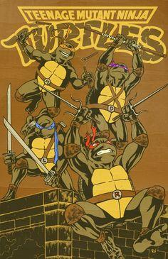 Turtle Power by RamonVillalobos.deviantart.com on @DeviantArt