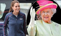 The Queen coaxes recluse Kate Middleton out to share her special day