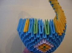 3d Origami Tutorial Peacocks Duke Peacock