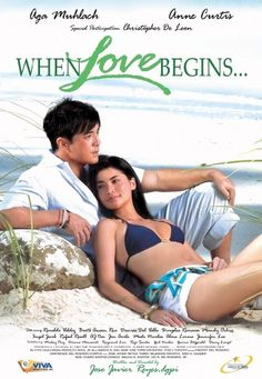 When Love Begins 2008 full free: Firstly, Ben (Aga Muhlach) an environmental lawyer and serial dater meets Michelle (Anne Curtis), a daughter of a successful real estate developer. Their casual relationship turns problematic Viva Film, The Reader, Pinoy Movies, Casual Relationship, Romance Film, Tagalog, French Films, Indie Movies, Film Quotes