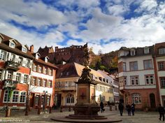 Heidelberg Castle and the World's Largest Wine Barrel and