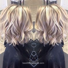Adorable I absolutely love the color and cut! The post I absolutely love the color and cut!… appeared first on 99Haircuts .