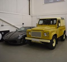 Two cars, one choice - which one would it be? #Style #RetroEdition #TwistedDefender #Defender #LandRover #LandRoverDefender #Lifestyle #Handcrafted #Handmade #Yorkshire #AntiOrdinary #DefenderRedefined