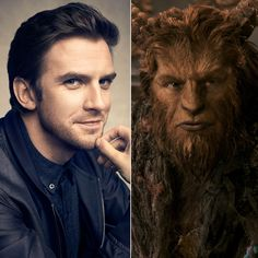 I love seeing these two pictures side by side. What a great film! Beauty and the Beast questions answered