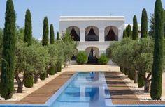 Het Ca Na Xica staat op een voormalig landgoed en is verbouwd tot een luxe hotel.
