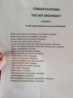 You got grounded!