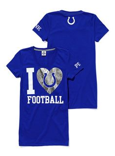 Victoria's Secret PINK. NFL collection - Indianapolis Colts!!