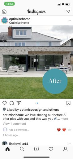 Before And After Pictures, Extensions, Outdoor Decor, Instagram, Home Decor, Decoration Home, Room Decor, Home Interior Design, Hair Extensions