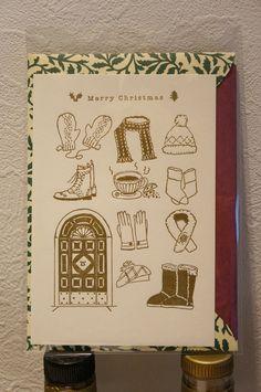 Post card & Original envelope. paper: CARTA PURA http://dear-dulcinea.blogspot.jp