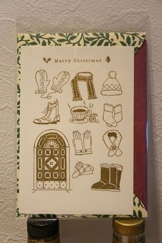 Post card & Original envelope. paper: CARTA PURA http://dear-dulcinea.blogspot.jp